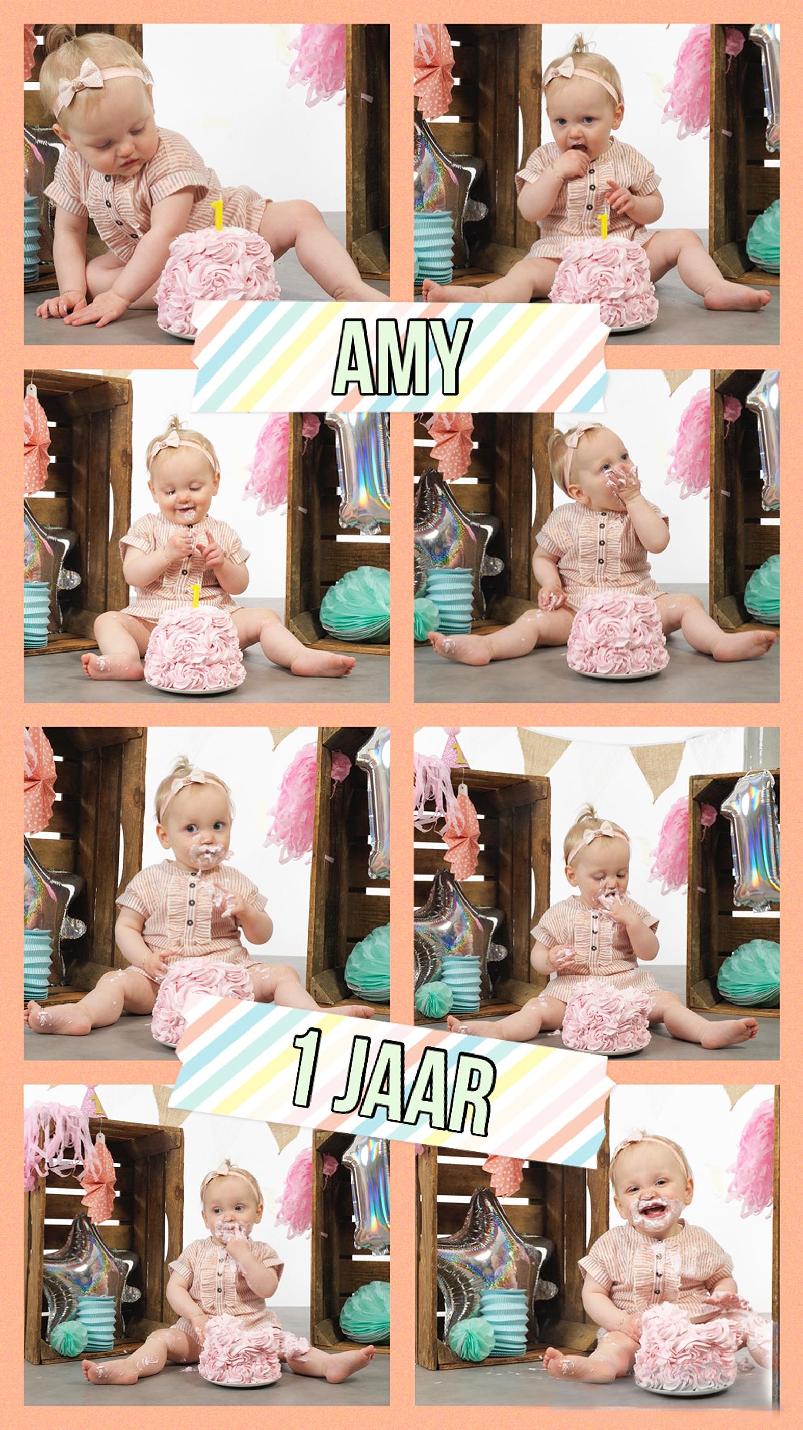 amy-1-jaar-bw